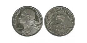 5 Centimes Lagriffoul Piéfort En Argent