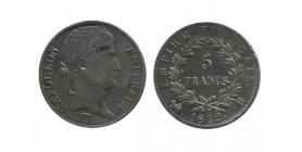 5 Francs Napoleon Ier Tête Laurée Revers Empire
