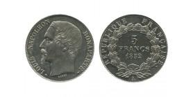 5 Francs Louis Napoleon Bonaparte Deuxième République