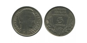 5 Francs Bazor Troisième République