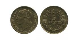5 Francs Lavrillier Bronze Aluminium Troisième République
