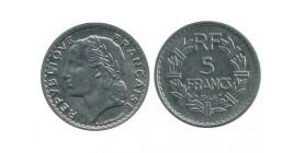 5 Francs Lavrillier Aluminium Gouvernement Provisoire