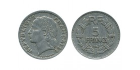5 Francs Lavrillier Aluminium Quatrième République