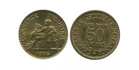 50 Centimes Chambre de Commerce Troisième République