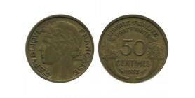 50 Centimes Morlon Bronze Aluminium Variété Sans Raisin