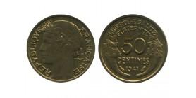 50 Centimes Morlon Bronze Aluminium Etat Français