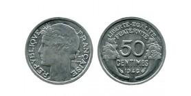 50 Centimes Morlon Aluminium Gouvernement Provisoire