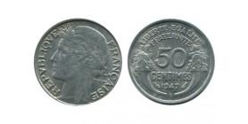 50 Centimes Morlon Aluminium Quatrième République