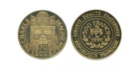 500 Francs - 70 Ecus Charlemage