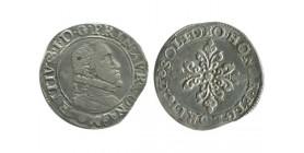 Demi franc de Maurice de Nassau Comté d'Orange