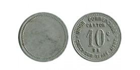 10 Centimes Union Commerciale Crécy sur Serre