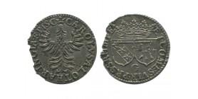 Double denier de Charles de Lorraine lorraine - évêché de verdun