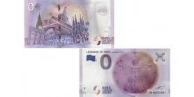 0 euro Léonard de Vinci
