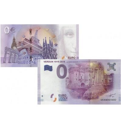 0 euro Verdun - Porte et monument