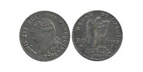 30 Sols François Constitution 1791I Limoges