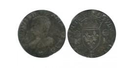 Charles IX - Teston 1565 L Bayonne