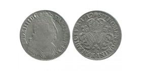 Louis XIV - Demi écu au trois couronnes - 1712 A Paris