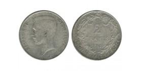 Belgique - 2 francs légende francaise Albert Ier 1912