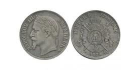 5 Francs Napoléon III Tête Laurée - 1870 BB