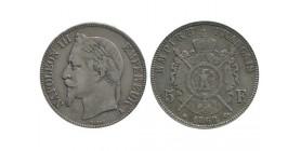5 Francs Napoléon III Tête Laurée - 1869 A
