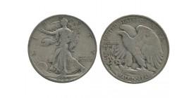 Etats Unis 1/2 dollars 1937 S