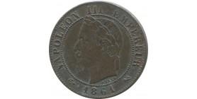 1 centime Napoléon III 1861 K Bordeaux