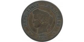 5 centimes Napoléon III 1862 K Bordeaux