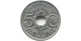 5 centimes Cérès 1876 A Paris