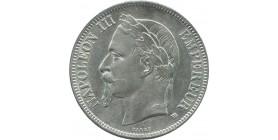 5 francs Napoléon III 1856 A Paris
