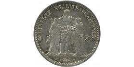 5 francs Hercule 1873 A Paris