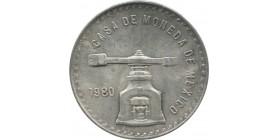 Mexique - 1 peso Maximilien Ier 1866 Mo