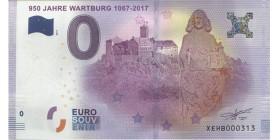 0 Euro Jahre Wartburg 1067-2017