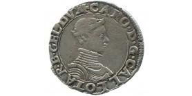 Lorraine - Quart de Teston de Charles III - non daté