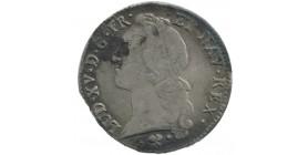Louis XV écu au bandeau