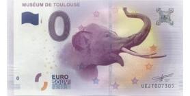 0 Euro Muséum de Toulouse