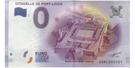 0 Euro Citadelle de Port-Louis