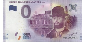 0 Euro Musée Toulouse-Lautrec Albi