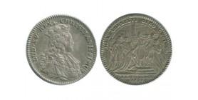 Jeton Sacre de Louis XV Louis XV