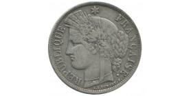 5 francs Cérès sans légende.
