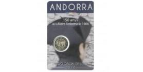 2 Euros Commémoratives Andorre 2016