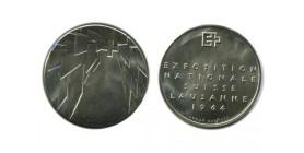 Medaille Argent Exposition Nationale de Lausanne Suisse Argent - Confederation