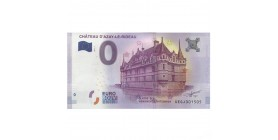 0 Euro Château d'Azay le Rideau