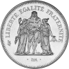 50 Francs Hercule