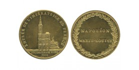 Médaille  Strasbourg - Entrée de l'Impératrice en France