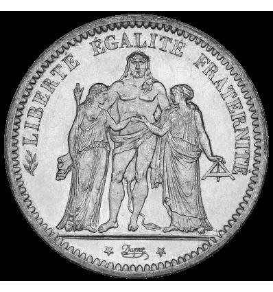 5 Francs Ecu 3 Têtes