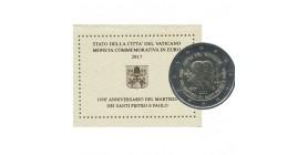 2 Euros Vatican 2017