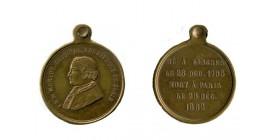Médaille F.N.M. Morlot Cardinal Archevêque de Paris