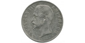 5 Francs Napoleon III Tête Nue Second Empire