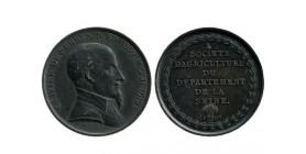Médaille Société d'Agriculture de la Seine Olivier de Serres