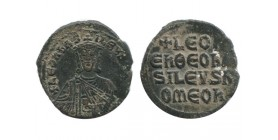 Follis de Léon VI Empire Byzantin